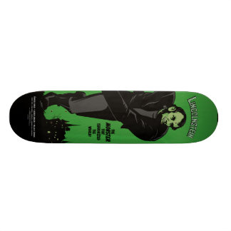 Abe Lincolnstein. Abraham Lincoln Frankenstein Skate Boards