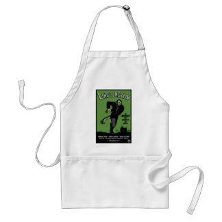 Abe Lincolnstein. the monster that terrorized... Adult Apron