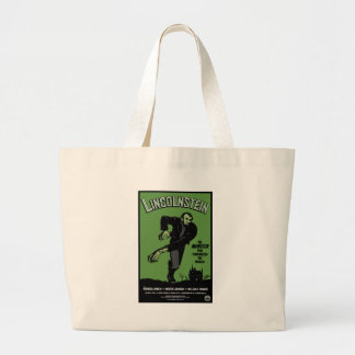 Abe Lincolnstein. the monster that terrorized... Jumbo Tote Bag