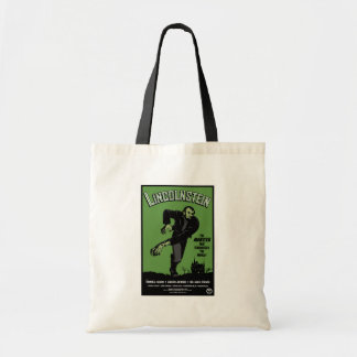 Abe Lincolnstein. the monster that terrorized... Budget Tote Bag
