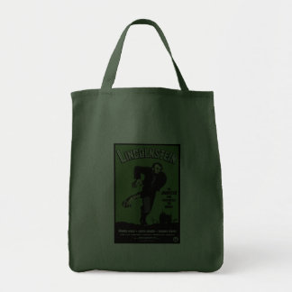 Abe Lincolnstein. the monster that terrorized... Tote Bag