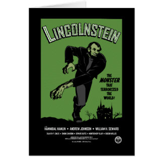 Abe Lincolnstein the monster that terrorized Card