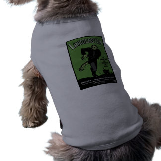 Abe Lincolnstein. the monster that terrorized... Doggie Tee Shirt