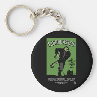 Abe Lincolnstein the monster that terrorized Key Chain