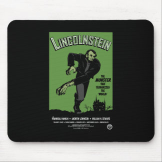 Abe Lincolnstein. the monster that terrorized... Mouse Pad