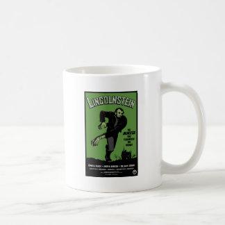 Abe Lincolnstein. the monster that terrorized... Basic White Mug