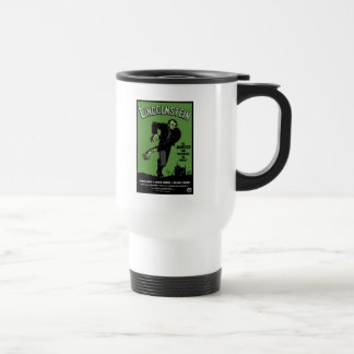 Abe Lincolnstein. the monster that terrorized... Stainless Steel Travel Mug