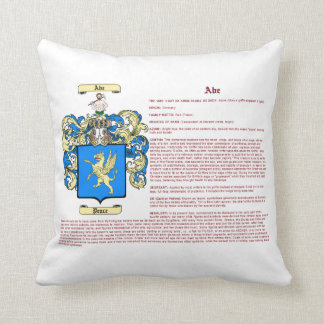 Throw Pillow Meaning : Ab Pillows - Ab Throw Pillows Zazzle