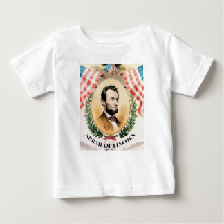 Abe oval baby T-Shirt