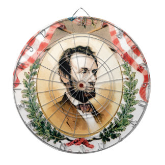 Abe oval dartboard