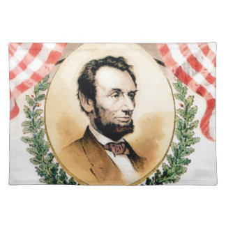 Abe oval placemat
