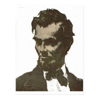 Abe Postcard