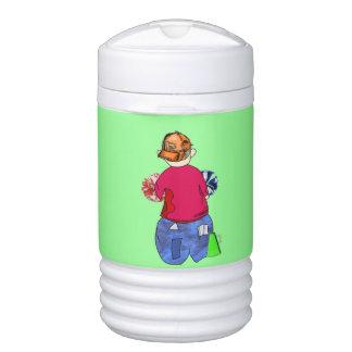Abe R Doodle - Rah Rah Igloo Beverage Dispenser