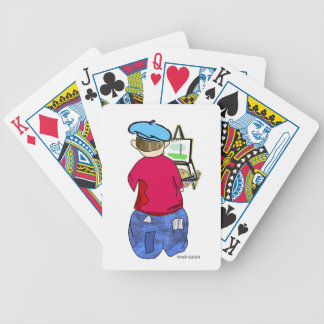 Abe R Doodle - Zee Artiste Bicycle Card Deck