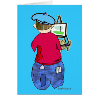 Abe R Doodle - Zee Artiste Cards