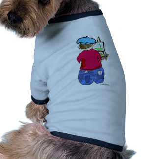 Abe R Doodle - Zee Artiste Doggie T-shirt