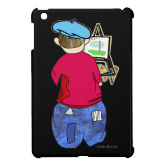 Abe R Doodle - Zee Artiste Case For The iPad Mini
