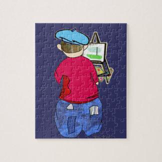 Abe R Doodle - Zee Artiste Jigsaw Puzzle