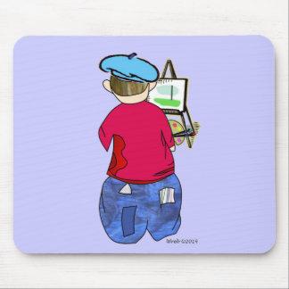 Abe R Doodle - Zee Artiste Mousepads