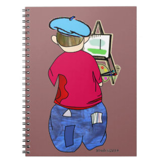 Abe R Doodle - Zee Artiste Note Book