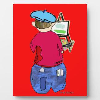 Abe R Doodle - Zee Artiste Photo Plaques