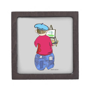 Abe R Doodle - Zee Artiste Premium Keepsake Boxes