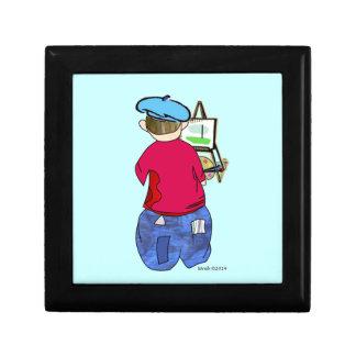 Abe R Doodle - Zee Artiste Trinket Box