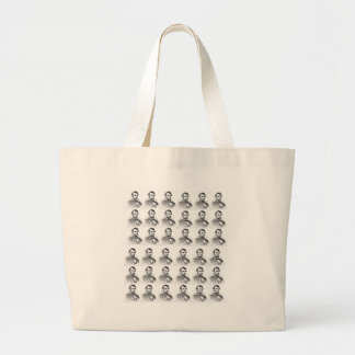 abe rows large tote bag