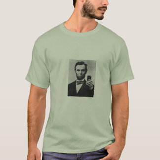 Abe Selfie T-Shirt