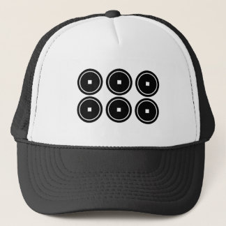 Abe six sentence sen trucker hat