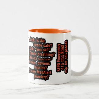 Abe Two-Tone Coffee Mug