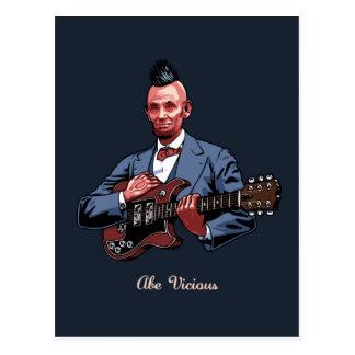 Abe Vicious Postcard