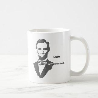 Abebroham Lincoln Coffee Mug