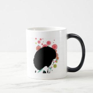 Abeille de bulle mug magique