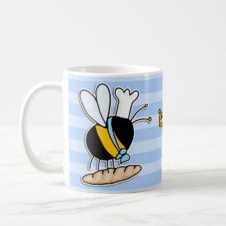abeille de travailleur - boulanger tasse à café