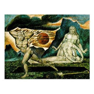 Abel Found by Adam & Eve Postcard