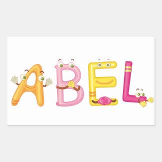 Abel Sticker