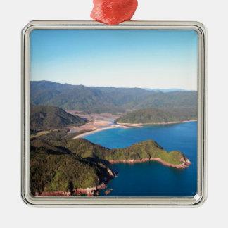 Abel Tasman National Park coastal paradise Metal Ornament