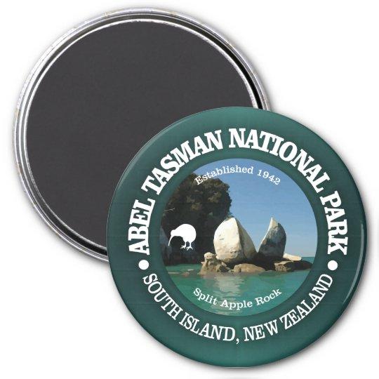 Abel Tasman NP 3 Inch Round Magnet