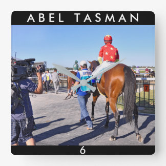 Abel Tasman Square Wall Clock
