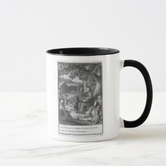 Abelard lecturing in the deserted Champagne Mug
