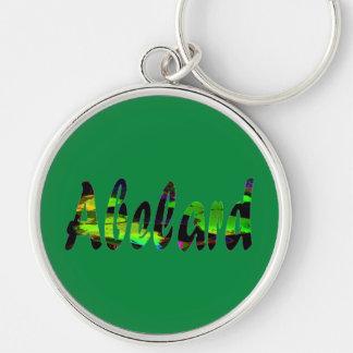 Abelard Stylish Green Tone Premium Keychain