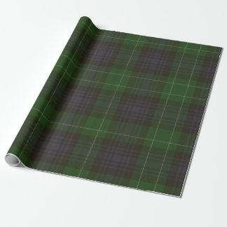 Abercrombie Clan Tartan Wrapping Paper