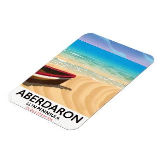 Aberdaron, Llŷn Peninsula Wales seaside poster Magnet