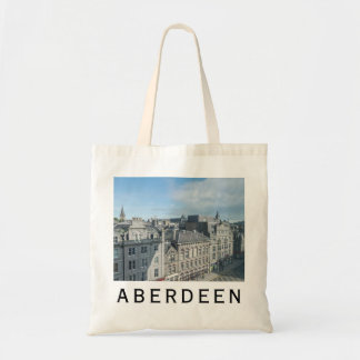 Aberdeen Castle Street view tote bag