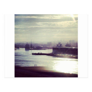 Aberdeen Harbour Postcard