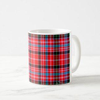 Aberdeen Red Blue Green Scottish Clan Tartan Mug