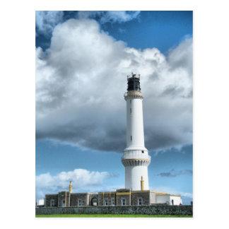 Aberdeen Scotland Light House Postcard