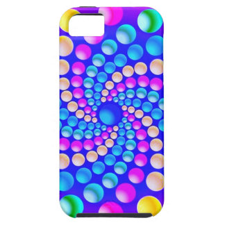 abestrato with small balls iPhone 5 case