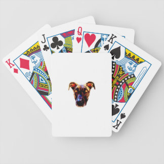 AbetheDog Cartoon Bicycle Playing Cards